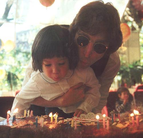 John Lennons Son Sean Lennon
